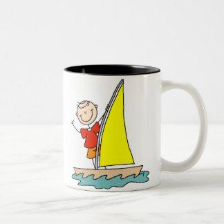 Sailing Stick Figure Mug