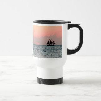 Sailing Sunset Coffee Mugs
