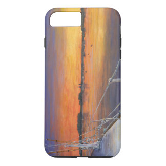 Sailing Sunset Oil Painting iPhone 7 Plus Case
