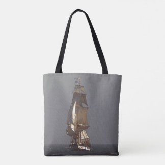 Sailing Tall Clipper Ship Ocean Sea Tote Bag