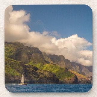 Sailing The Coastline Coaster Set