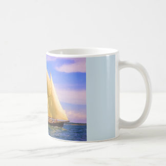 Sailing The Sound Coffee Mug