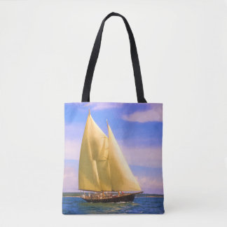 Sailing The Sound Tote Bag