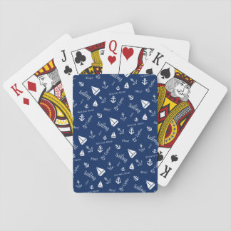 Sailing Theme Playing Cards Gift Idea