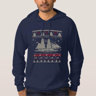 Sailing Ugly Christmas Hoodie