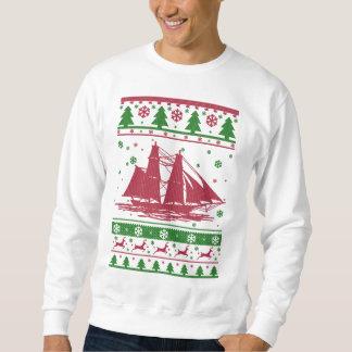 Sailing Ugly Christmas Sweatshirt