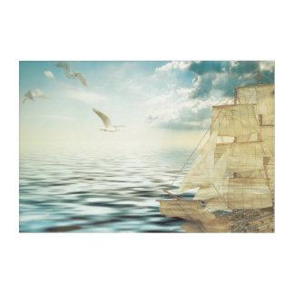 Sailing-vessel Acrylic Wall Art