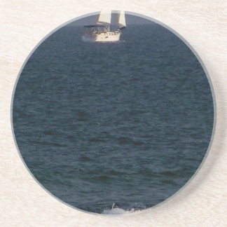 sailing with friends.JPG Beverage Coasters