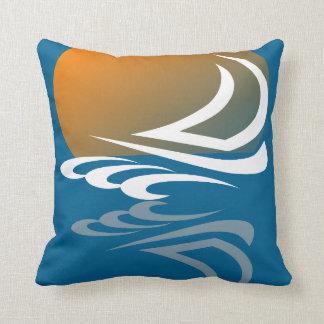 Sailing Yacht in the Sun Cushion