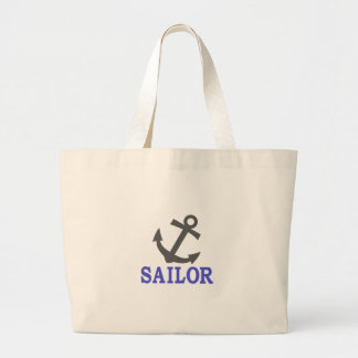 Sailor Anchor Jumbo Tote Bag