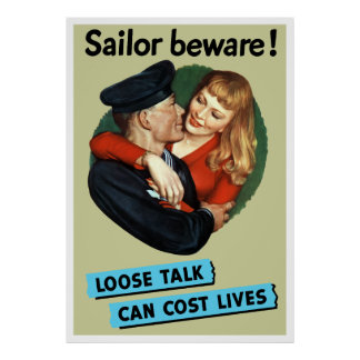 Sailor Beware! Poster
