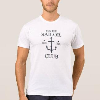 Sailor club black color T-Shirt