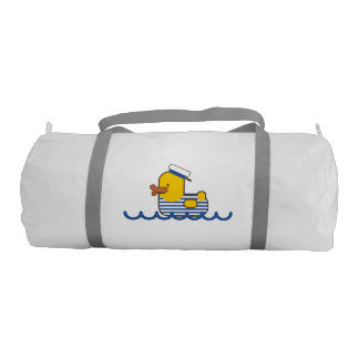 Sailor duck gym duffel bag