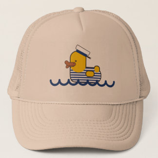 Sailor duck trucker hat