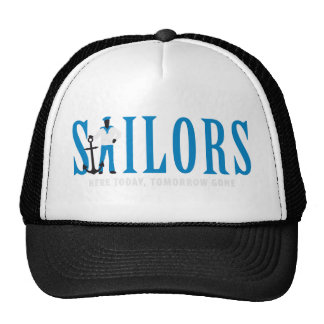 SAILOR ONE WITH ANCHOR CAP