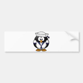 Sailor Penguin Bumper Stickers