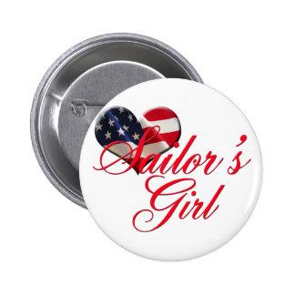 Sailor s Girl Pinback Button