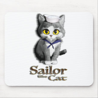 Sailor the Cat Mouse Pad