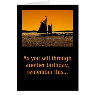 Sailors Get a Little Dinghy! Note Card