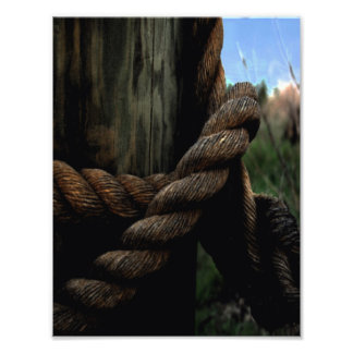Sailor's Rope Photographic Print