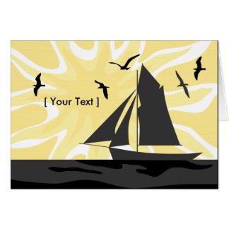 Sailors Sunrise Greeting Card