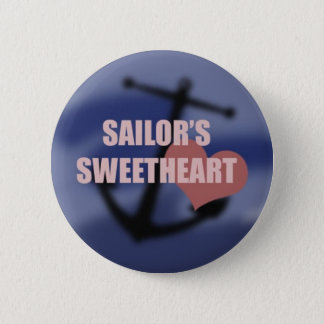 Sailor's Sweetheart 6 Cm Round Badge