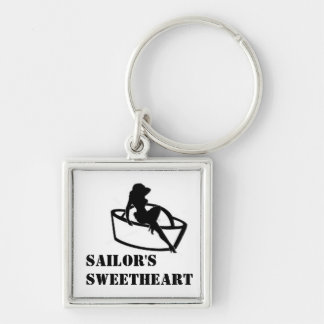 Sailor's Sweetheart Keychain