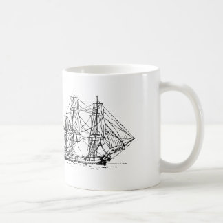 Sailor's Tall Ships and Sea Anchors Coffee Mug