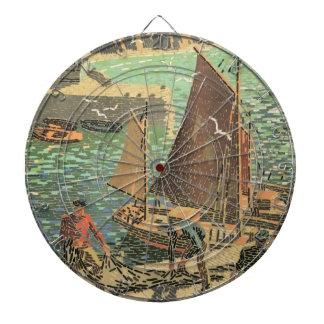 Sailors Tiled Dartboard