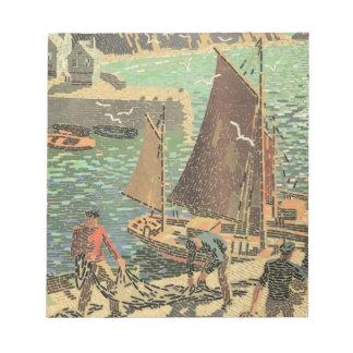 Sailors Tiled Notepad