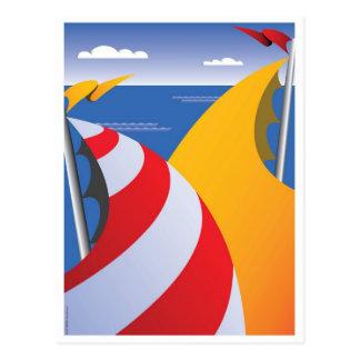Sails Postcard