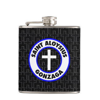 Saint Aloysius Gonzaga Hip Flask
