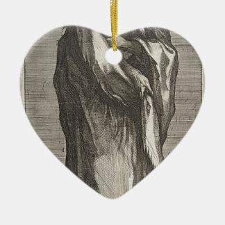 Saint Andrew Ceramic Heart Decoration