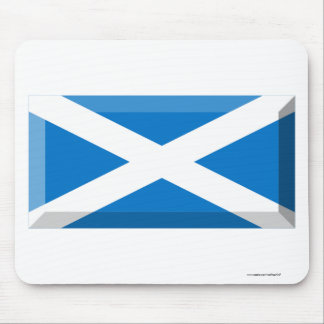 Saint Andrew Flag of Scotland Jewel Mousepads