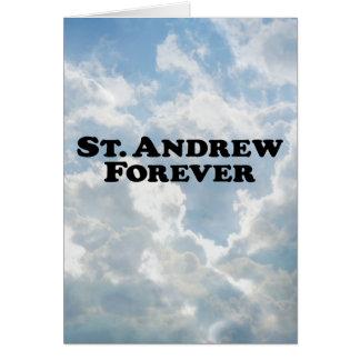 Saint Andrew Forever - Basic Card