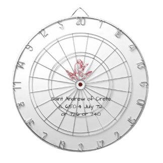 Saint Andrew of Crete Dartboard