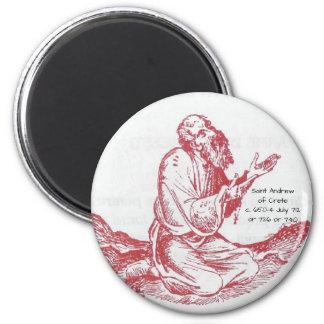 Saint Andrew of Crete Magnet