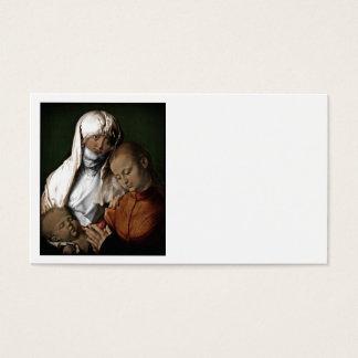 Saint Anne Admiring Baby Jesus Business Card