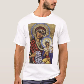 Saint Anne with the Theotokos T-Shirt