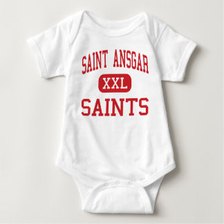 Saint Ansgar - Saints - Middle - Saint Ansgar Iowa Baby Bodysuit