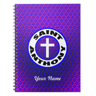 Saint Anthony Notebook