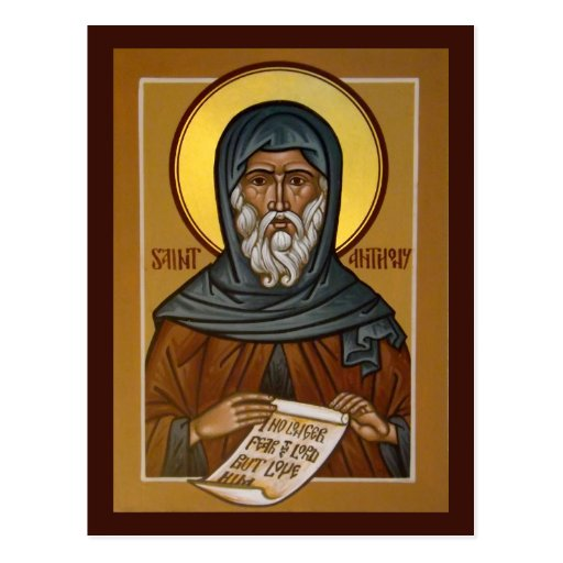 Saint Anthony Prayer Card Post Cards