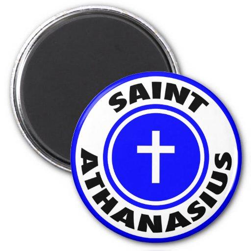 Saint Athanasius Refrigerator Magnets