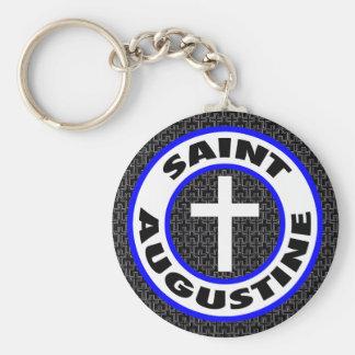 Saint Augustine Key Ring