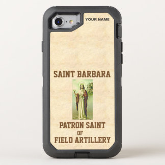 SAINT BARBARA (Patron Saint of Field Artillery) OtterBox Defender iPhone 7 Case