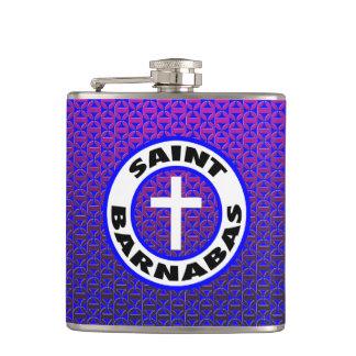Saint Barnabas Hip Flask