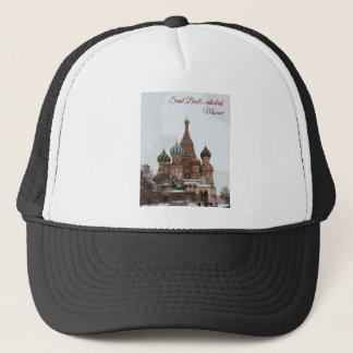 Saint Basil's cathedral_eng Trucker Hat