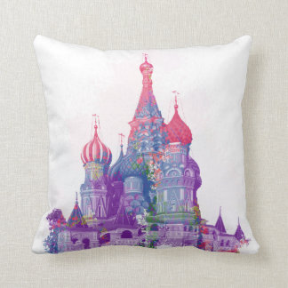 Saint Basil's Cathedral Moscow Cushion