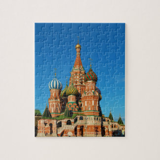 Saint Basil's Cathedral Moscow Russia Jigsaw Puzzle