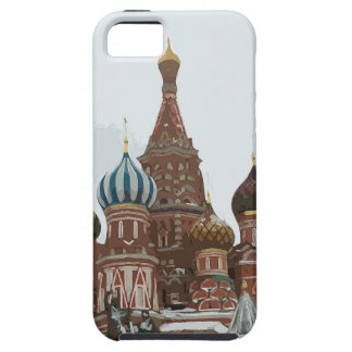Saint Basil's cathedral_russo Case For The iPhone 5